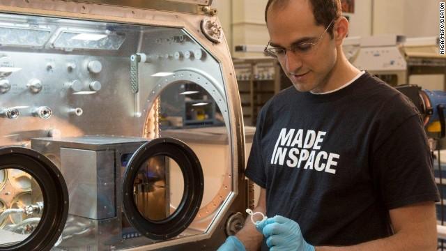 Los astronautas imprimirán artículos en 3D en órbita