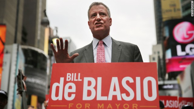 Poll: Lopsided race for mayor in Big Apple