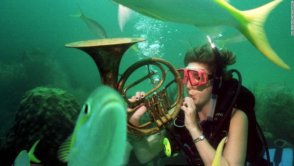 Música submarina