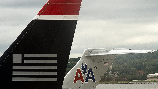 American, US Air merger a go...