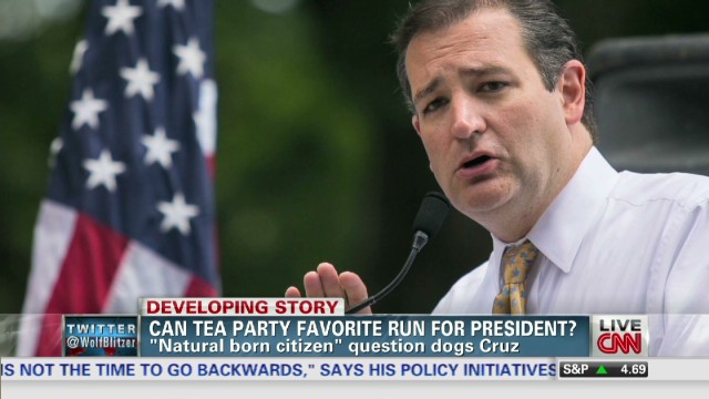 Can Sen. Ted Cruz run for president? – The Situation Room with Wolf ...