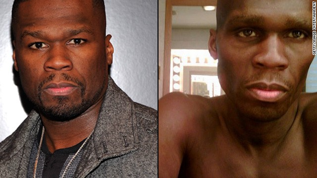 "50 Cent had fans worried that he was truly ill when images surfaced of his role as a man suffering from cancer in ""All Things Fall Apart."""