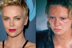 "Charlize Theron en ""Monster"""