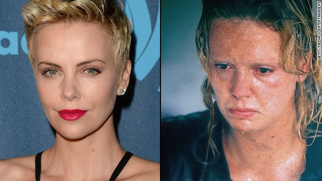 "Charlize Theron gained about 30 pounds and wore crooked prosthetic teeth for her transformation into serial killer Aileen Wuornos in 2003's ""Monster"" -- and won a best actress Oscar."