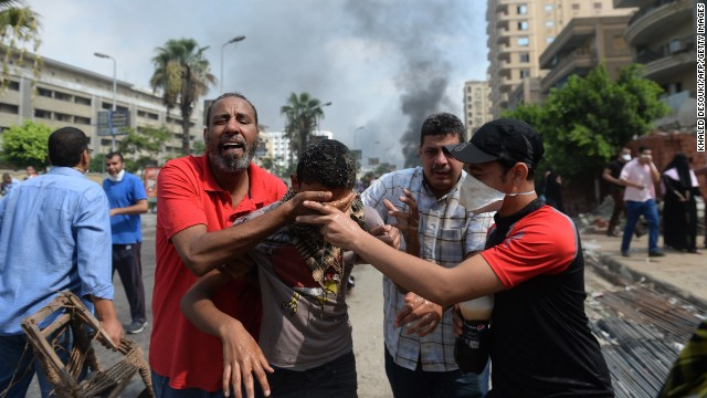 Have crimes against humanity been committed in Egypt?