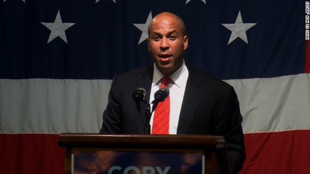 Booker's opponent says sexuality speculation 'weird'