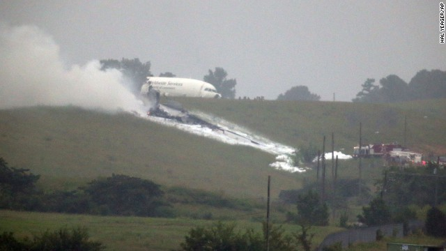 Photos: UPS cargo plane crash