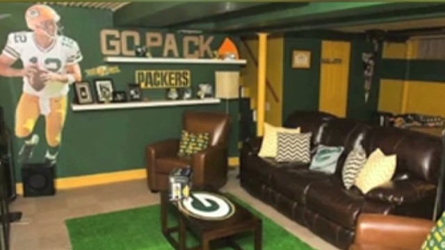 Wife Builds Husband The Ultimate Man Cave New Day Cnn