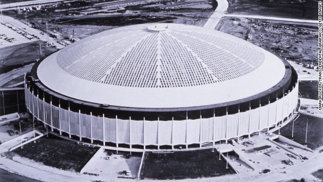 "The Astrodome was nicknamed the ""eighth wonder of the world"" when it opened in 1965. It was the first of its kind: a massive air-conditioned stadium with a roof. The structure, with an inside height of 208 feet, has sat mostly empty since the Astros left in 1999 for a more modern stadium."