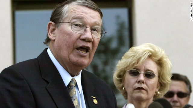 "Former U.S. Rep. Randy ""Duke"" Cunningham, R-California, was sentenced in 2006 to eight years in prison after he was convicted of collecting $2.4 million in homes, yachts, antique furnishings and other bribes on a scale unparalleled in the history of Congress."