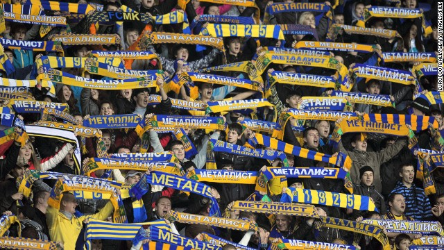 Metalist Kharkiv were knocked out of the UEFA Europa League in 2012/13 by English club Newcastle United.