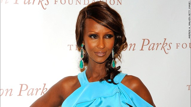 At age 58, Iman could still easily book modeling gigs.
