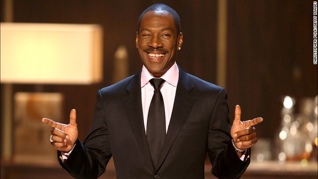 Eddie Murphy speaks onstage at Spike TV's