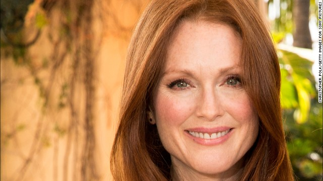 Julianne Moore is a ginger haired beauty at 52.