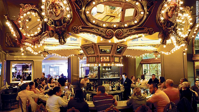 Built in 1886, this Beaux-Arts beauty recalls the glory days of New Orleans. Ernest Hemingway wrote about the revolving Carousel Bar & Lounge (pictured).