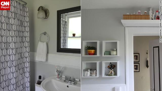 <a href='http://ireport.cnn.com/docs/DOC-1016490'>Katie Hawkins-Gaar's</a> serene <a href='http://oakdaleonward.com/2011/09/24/bathroom-reveal/' target='_blank'>bathroom</a>.