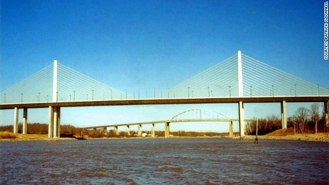 Delaware's Sen. William V. Roth Jr. Bridge, aka the C & D Canal Bridge, was dedicated in 2007 and named after the lawmaker who fathered the Roth IRA. The St. Georges Bridge is in the background.