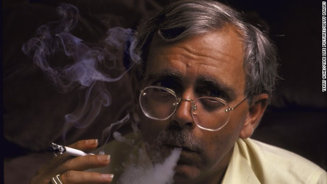 Robert Randall smokes marijuana that was prescribed to treat his glaucoma in 1988. He became the first legal medical marijuana patient in modern America after winning a landmark case in 1976.