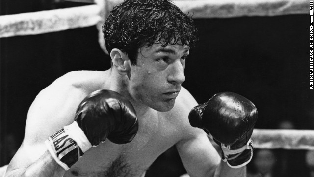 American actor Robert De Niro as boxer Jake LaMotta in a scene from 'Raging Bull', directed by Martin Scorsese, 1980. (Photo by United Artists/Archive Photos/Getty Images)