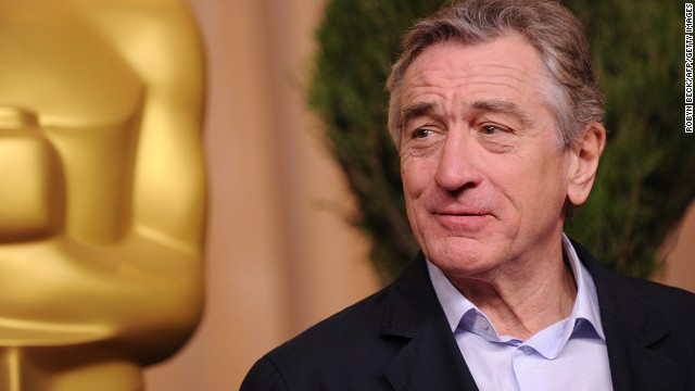 "De Niro has been nominated for Oscars seven times and won twice. He earned a best supporting actor nod for ""Silver Linings Playbook."""