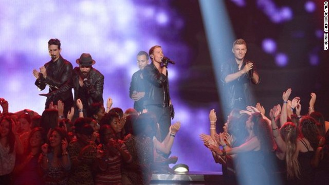 Backstreet Boys take us back on 'America's Got Talent'