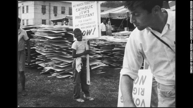 Photos: Leonard Freed\'s March on Washington