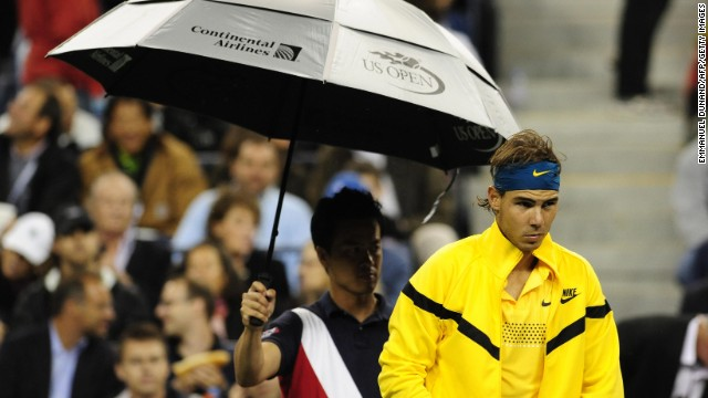 Rain soon won't be an issue at the U.S. Open after organizers said two retractable roofs would be in place.