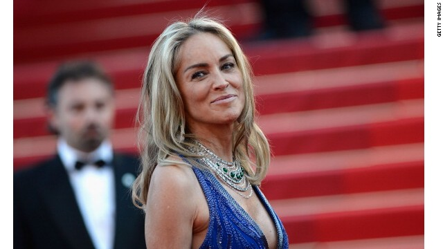 Sharon Stone, seen here at the Cannes Film Festival in 2013, is fabulous at 55.