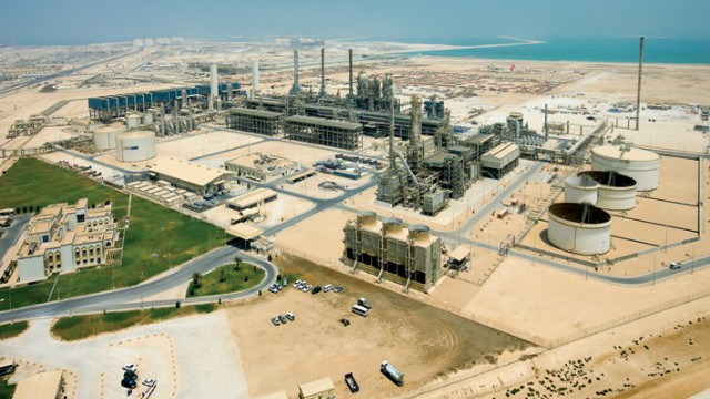 Sasol has been using the conversion technology for more than 60 years, running operations both in South Africa and Qatar. Pictured here, the company's flagship ORYX GTL plant in Qatar.