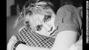 Madonna as she was first emerging on the music scene in New York in December 1982.