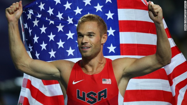 "U.S. runner Nick Symmonds, who became the first athlete at the championships to criticize the laws after winning silver in the 800 meters on Tuesday, said that Isinbayeva ""was so behind the times."" In an interview with the BBC, he revealed that he had been told he would've been arrested had he competed wearing a rainbow sticker."