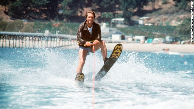 "Ever wondered where the phrase ""jumped the shark"" came from? You can thank the ""Happy Days"" writers for that one. In 1977, the beloved show took a plot turn it couldn't recover from when Henry Winkler's Fonzie literally ""jumped the shark"" while water skiing."