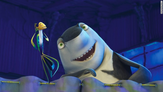 "In 2004, the shark wave rolled on with DreamWorks' ""Shark Tale,"" featuring the voices of Will Smith, Angelina Jolie, Renee Zellweger, and Jack Black as Lenny the shark. With Hans Zimmer composing, the soundtrack had just as much bite."