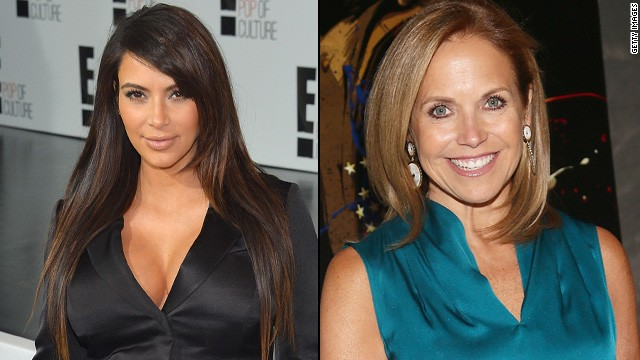 Kim Kardashian beefs with Katie Couric