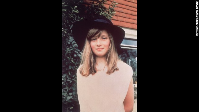 Diana is seen during a summer holiday in Itchenor, West Sussex, in 1971.
