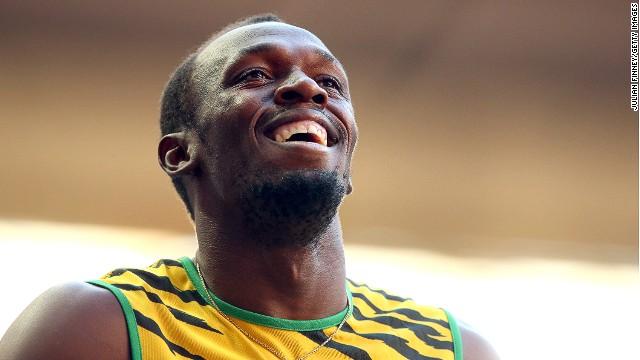El velocista Usain Bolt gana medalla de oro en el Mundial de Moscú