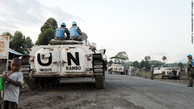 DR Congo is home to 20,000 U.N. peacekeepers, but they are tasked with covering a vast area on the eastern part of the country.