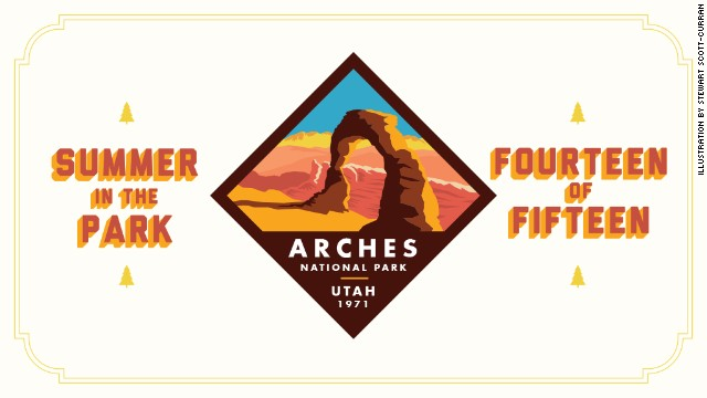 Arches National Park is home to the world's highest concentration of natural sandstone arches. Be sure to check back next week for the Summer in the Park series finale: <a href='http://www.nps.gov/ever/index.htm' target='_blank'>Everglades National Park.</a>