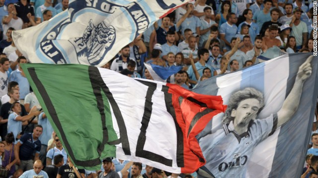 Lazio will stage their first match of the new Serie A season without a section of their fans