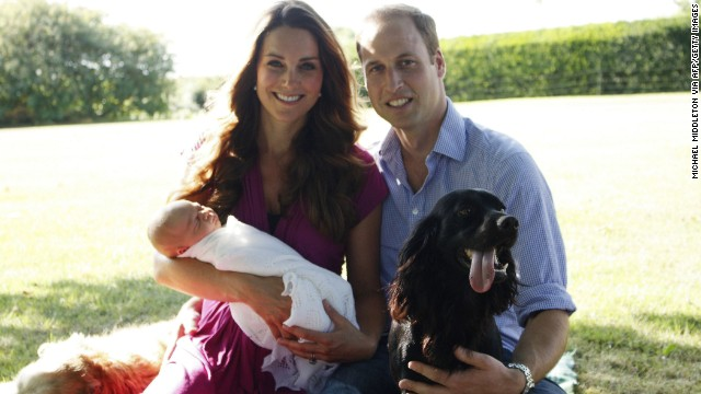 Photos: Prince George, the royal baby