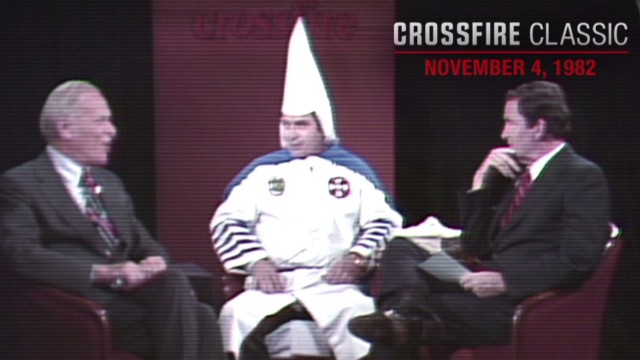 Crossfire Classic: KKK Grand Wizard in 1982