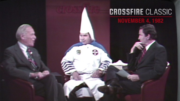 Crossfire classic kkk grand wizard in 1982 video for Classic story adobe