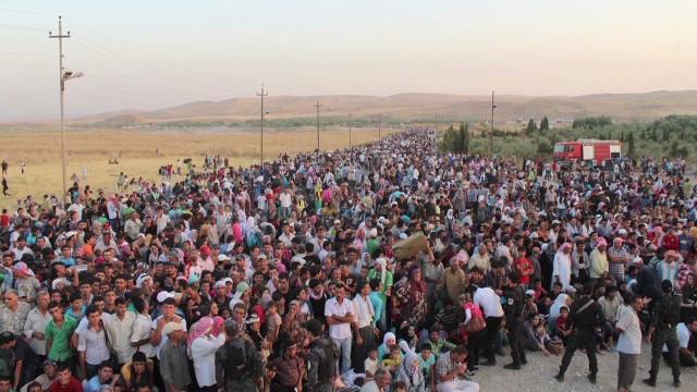 La guerra civil siria provoca la huida de 30.000 personas a Iraq