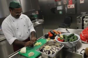 Cocina con energía