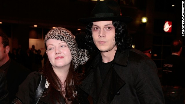 Remember when The White Stripes -- Meg White and Jack White -- were claiming to be siblings? Turns out they were actually married. The two divorced in 1999 and the band broke up for good in 2011.