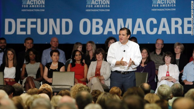 Cruz: Not enough votes now for Obamacare shutdown threat