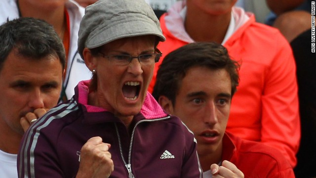 The first thing casual tennis fans might think of when Judy Murray's name is mentioned is how excitable she can get in the stands supoorting her son Andy.