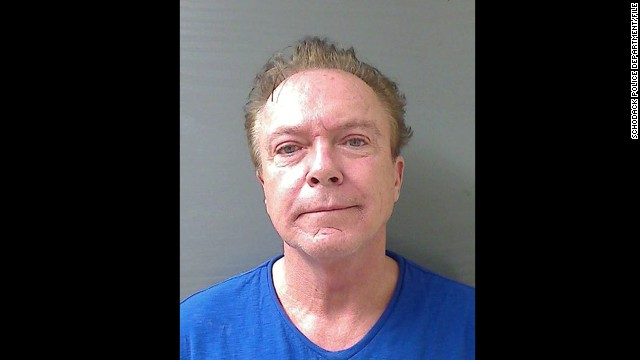 """The Partridge Family"" star David Cassidy has been arrested again for drunk driving after being stopped for an illegal turn in Los Angeles on January 10, 2013. Cassidy was arrested, as seen here, on a another drunken driving charge last August in Schodack, New York, after he failed to dim his car's headlights at a police checkpoint, according to the police report."