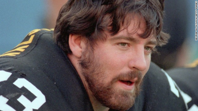 The death of 36-year-old Pittsburgh Steelers offensive lineman Justin Strzelczyk put the link between playing football and CTE in the national spotlight. Strzelczyk was <a href='http://www.nytimes.com/2007/06/15/sports/football/15brain.html' target='_blank'>killed in 2004</a> in a car crash after a 40-mile high-speed chase with police in New York.