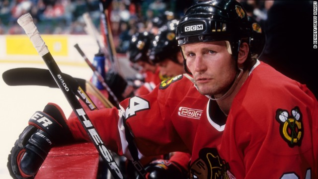 Hockey player Bob Probert was found to have CTE after suffering from heart failure at the age of 45.
